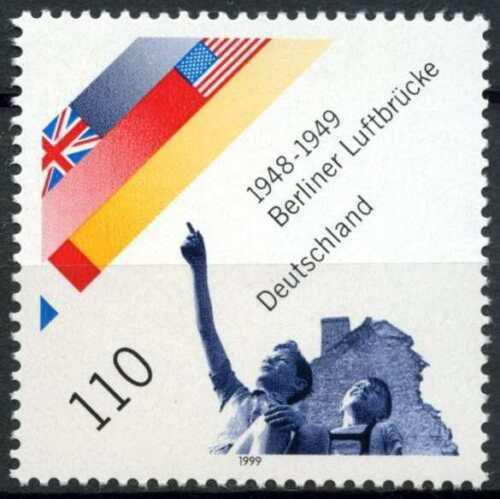 Poštovní známka Nìmecko 1999 Blokáda Berlína, 50. výroèí Mi# 2048