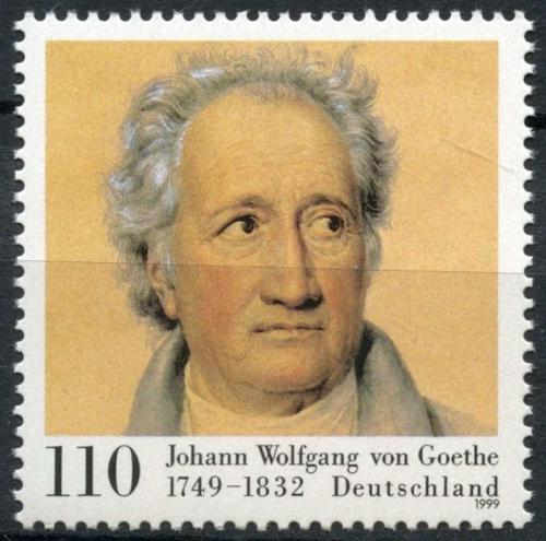 Poštovní známka Nìmecko 1999 Johann Wolfgang Goethe Mi# 2073