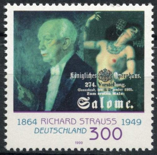 Poštovní známka Nìmecko 1999 Richard Strauss Mi# 2076