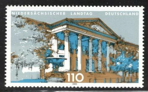 Poštovní známka Nìmecko 2000 Parlament v Hannoveru Mi# 2104