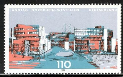 Poštovní známka Nìmecko 2000 Parlament v Düsseldorfu