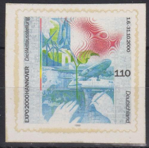 Poštovní známka Nìmecko 2000 EXPO Hannover Mi# 2112 Kat 6.50€