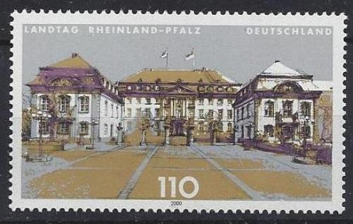 Poštovní známka Nìmecko 2000 Parlament v Míšni Mi# 2129