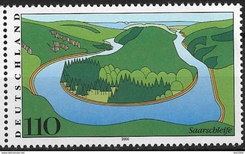Poštovní známka Nìmecko 2000 Øeka Saar Mi# 2133
