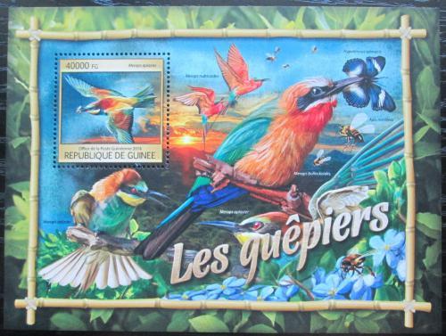 Poštovní známka Guinea 2016 Vlhy Mi# Block 2669 Kat 16€