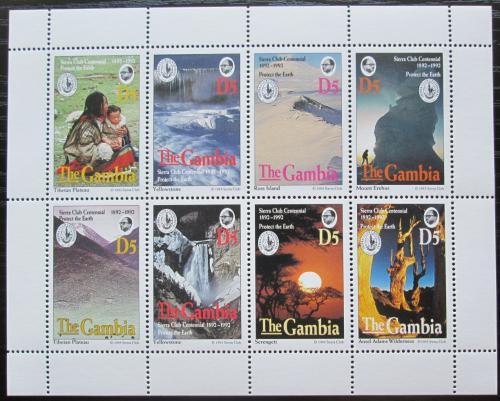 Poštovní známky Gambie 1994 Sierra Club, ochrana pøírody Mi# 1850-57 Kat 20€