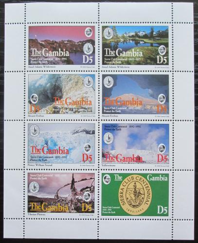 Poštovní známky Gambie 1994 Sierra Club, ochrana pøírody Mi# 1858-65 Kat 20€