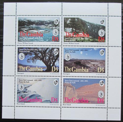 Poštovní známky Gambie 1994 Sierra Club, ochrana pøírody Mi# 1866-71 Kat 15€