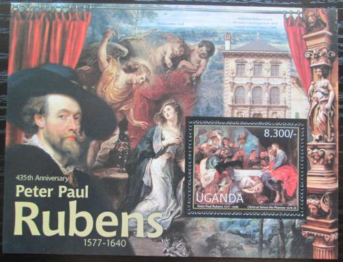 Poštovní známka Uganda 2012 Umìní, Peter Paul Rubens Mi# Mi# Block 383 Kat 8€