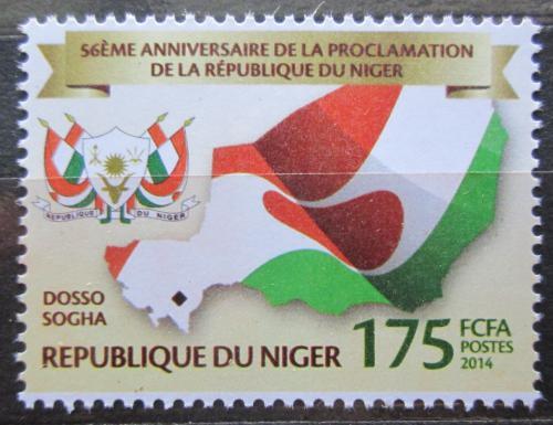 Poštovní známka Niger 2014 Nezávislost, 56. výroèí Mi# Mi# 3269