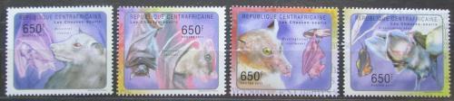 Poštovní známky SAR 2011 Netopýøi Mi# 3033-36 Kat 10€