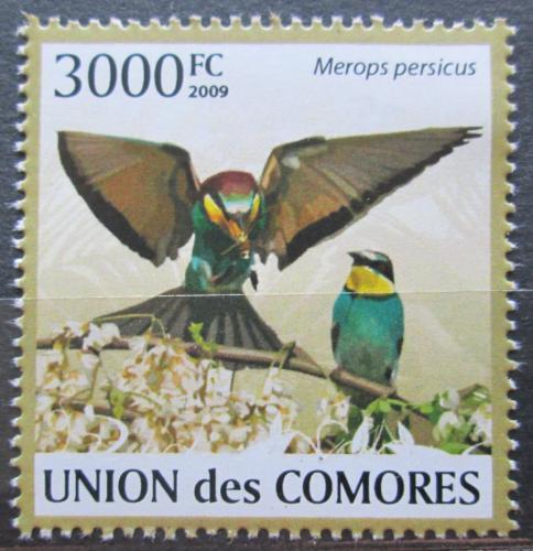 Poštovní známka Komory 2009 Vlha zelená Mi# 2417