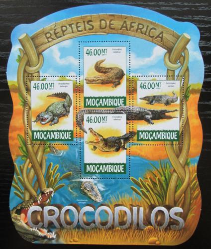 Poštovní známky Mosambik 2015 Krokodýli Mi# 7879-82 Kat 10€