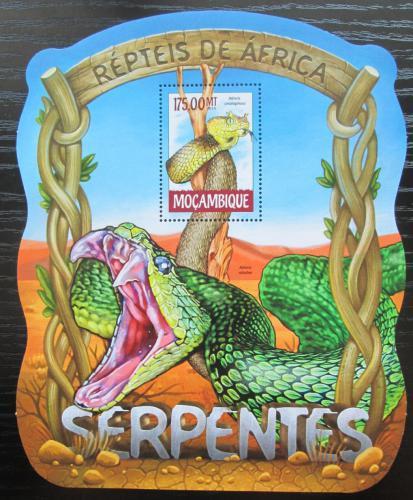 Poštovní známka Mosambik 2015 Hadi Mi# Block 1018 Kat 10€