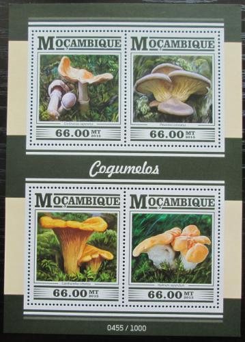 Poštovní známky Mosambik 2015 Houby Mi# 7989-92 Kat 15€