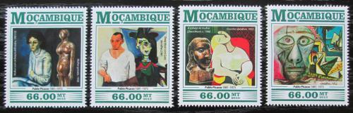 Poštovní známky Mosambik 2015 Umìní, Pablo Picasso Mi# 8224-27 Kat 15€