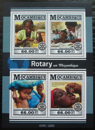 Poštovní známky Mosambik 2015 Rotary International Mi# 8239-42 Kat 15€