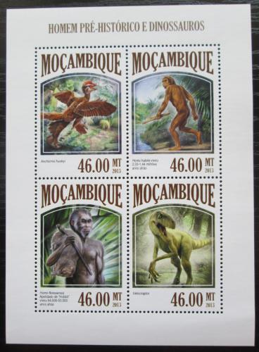 Poštovní známky Mosambik 2013 Život v pravìku Mi# 6812-15 Kat 11€
