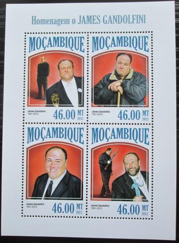 Poštovní známky Mosambik 2013 James Gandolfini, herec Mi# 6877-80 Kat 11€