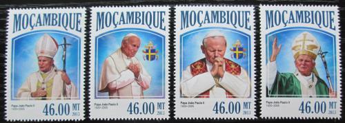 Poštovní známky Mosambik 2013 Papež Jan Pavel II. Mi# 6922-25 Kat 11€