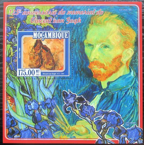 Poštovní známka Mosambik 2015 Umìní, Vincent van Gogh Mi# Block 991 Kat 10€