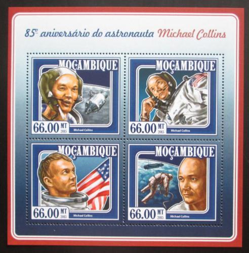 Poštovní známky Mosambik 2015 Michael Collins Mi# 7775-78 Kat 15€