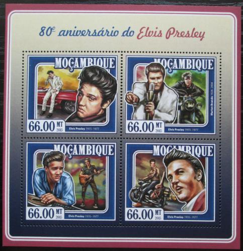 Poštovní známky Mosambik 2015 Elvis Presley Mi# 7790-93 Kat 15€