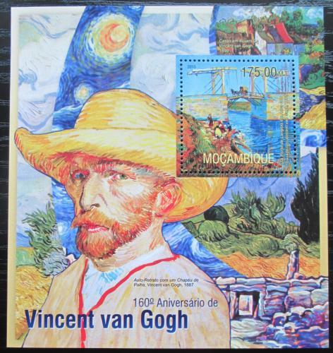Poštovní známka Mosambik 2013 Umìní, Vincent van Gogh Mi# Block 783 Kat 10€