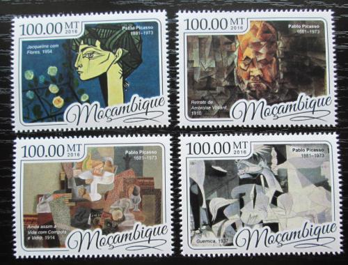 Poštovní známky Mosambik 2016 Umìní, Pablo Picasso Mi# 8839-42 Kat 22€