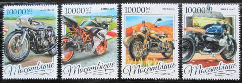 Poštovní známky Mosambik 2016 Motocykly Mi# 8644-47 Kat 22€