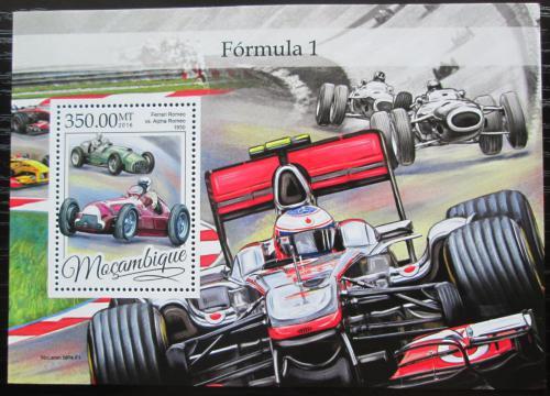 Poštovní známka Mosambik 2016 Formule 1 Mi# Block 1170 Kat 20€
