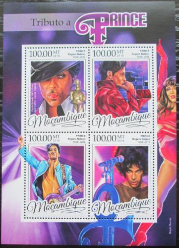 Poštovní známky Mosambik 2016 Prince, hudebník Mi# 8669-72 Kat 22€