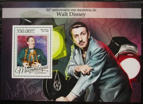 Poštovní známka Mosambik 2016 Walt Disney Mi# Block 1175 Kat 20€