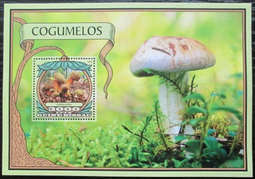 Poštovní známka Guinea-Bissau 2016 Houby Mi# Block 1531 Kat 11€