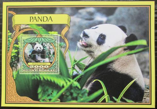 Poštovní známka Guinea-Bissau 2016 Pandy Mi# Block 1538 Kat 11€