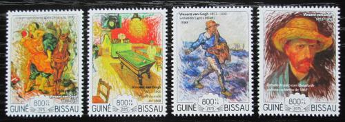 Poštovní známky Guinea-Bissau 2015 Umìní, van Gogh Mi# 7634-37 Kat 13€