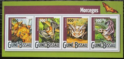 Poštovní známky Guinea-Bissau 2015 Netopýøi Mi# 7963-66 Kat 14€