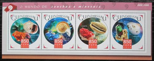 Poštovní známky Guinea-Bissau 2015 Mušle Mi# 8334-37 Kat 13€