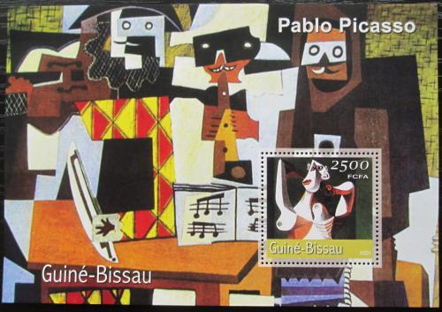 Poštovní známka Guinea-Bissau 2001 Umìní, Pablo Picasso Mi# Block 339 Kat 8.50€