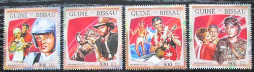 Poštovní známky Guinea-Bissau 2016 Elvis Presley Mi# 8649-52 Kat 13.50€