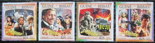 Poštovní známky Guinea-Bissau 2016 Filmový festival v Cannes Mi# 8639-42 12.50€