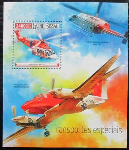 Poštovní známka Guinea-Bissau 2015 Záchranáøská technika Mi# Block 1407 Kat 9€