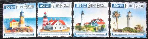 Poštovní známky Guinea-Bissau 2015 Majáky Mi# 8115-18 Kat 14€