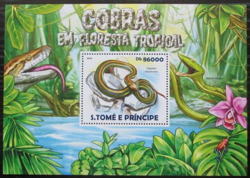 Poštovní známka Svatý Tomáš 2015 Hadi Mi# Block 1081 Kat 8.50€