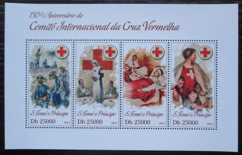 Poštovní známky Svatý Tomáš 2013 Èervený køíž, 150. výroèí Mi# 5211-14 Kat 10€