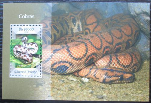 Poštovní známka Svatý Tomáš 2014 Hadi Mi# Block 995 Kat 10€