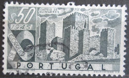 Poštovní známka Portugalsko 1946 Hrad Castelo de Guimaraes Mi# 696