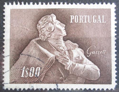 Poštovní známka Portugalsko 1957 Almeida Garrett, básník Mi# 856