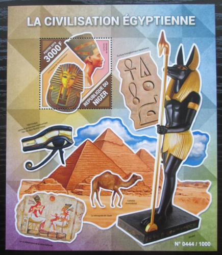 Poštovní známka Niger 2015 Starý Egypt Mi# Block 487 Kat 11€