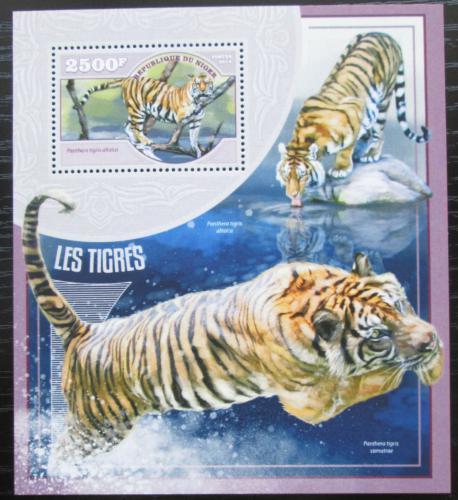 Poštovní známka Niger 2014 Tygøi Mi# Block 358 Kat 10€